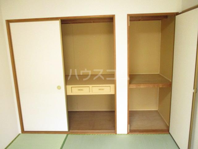 サンヴィラージュA・B A203号室の収納