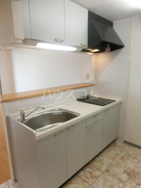 オスマンサスフラグランス 402号室のキッチン