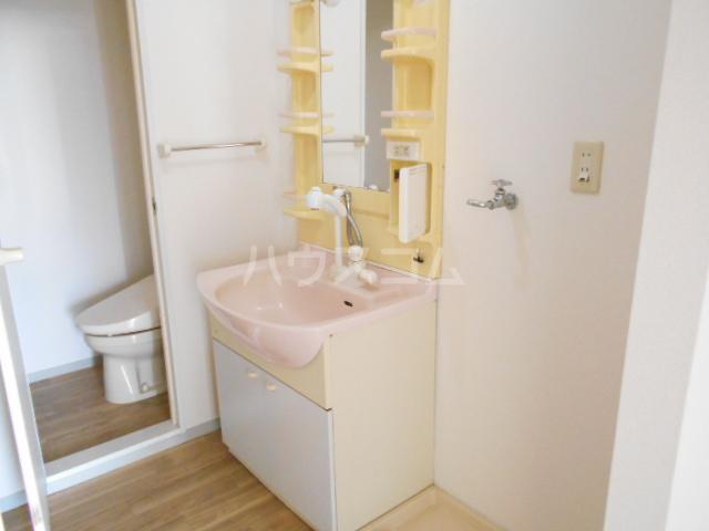 メゾンクレール 四番館 202号室の洗面所