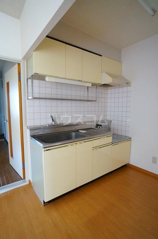 カーサマルコ 202号室のキッチン