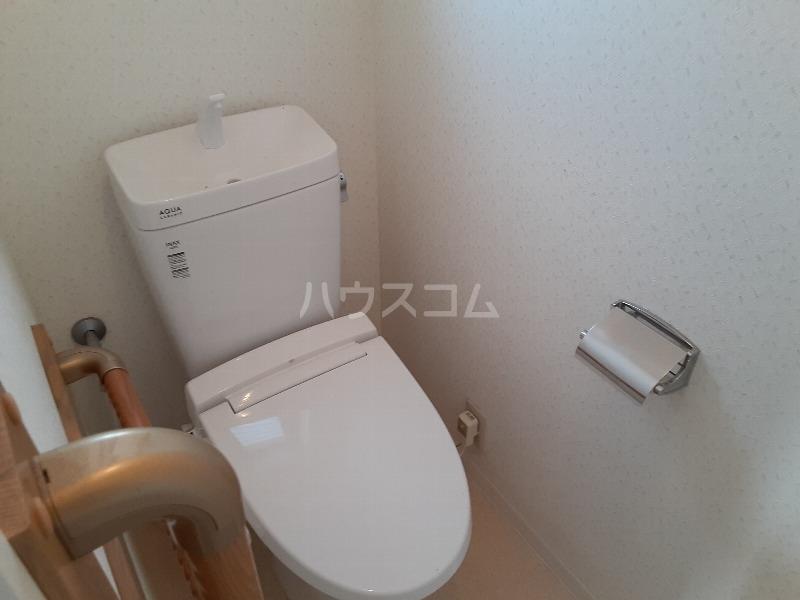 さなるvilla 102号室のトイレ