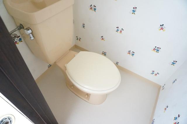 ファミールKITO 103号室のトイレ