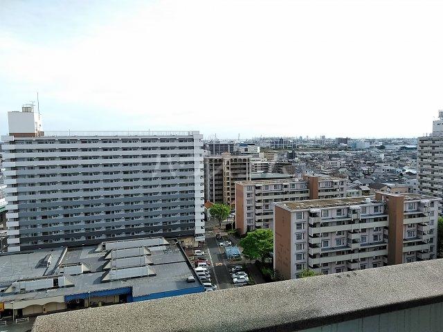 中駒九番団地 8号棟 1415号室の景色