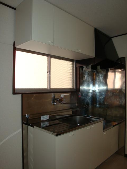コーポ内山 201号室のキッチン