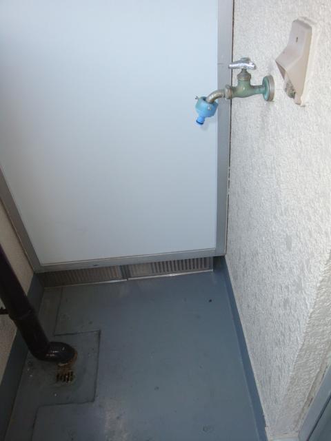 コーポ内山 201号室のバルコニー