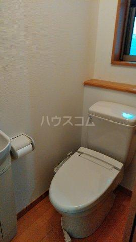 みよし市 ひばりヶ丘貸家のトイレ