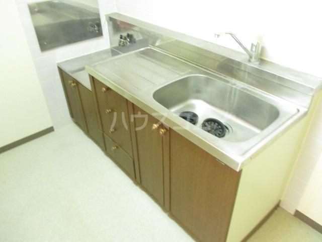 エコガーデン C棟 202号室のキッチン