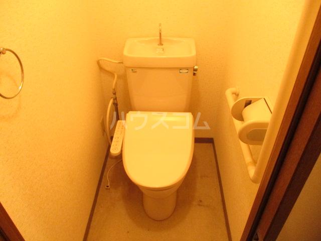 エコガーデン C棟 202号室のトイレ