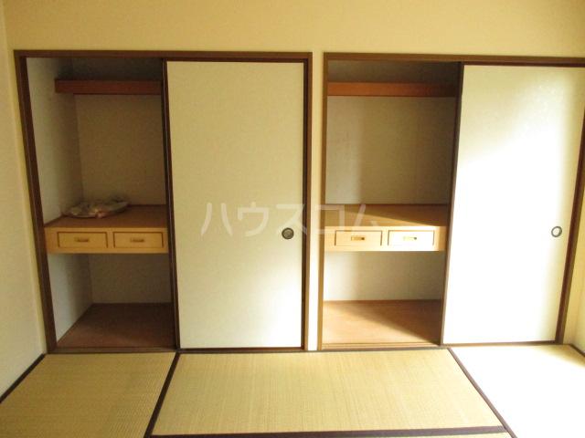 エコガーデン C棟 202号室のベッドルーム