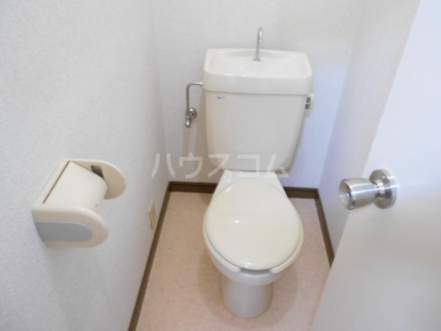 ハイツサンクリスタル 203号室のトイレ