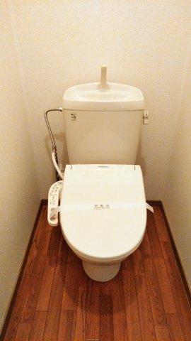 Riverside Satou 101号室のトイレ