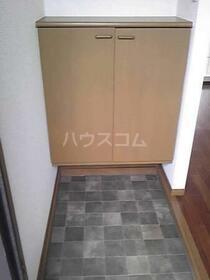 モン・プラティーヌ 102号室の玄関