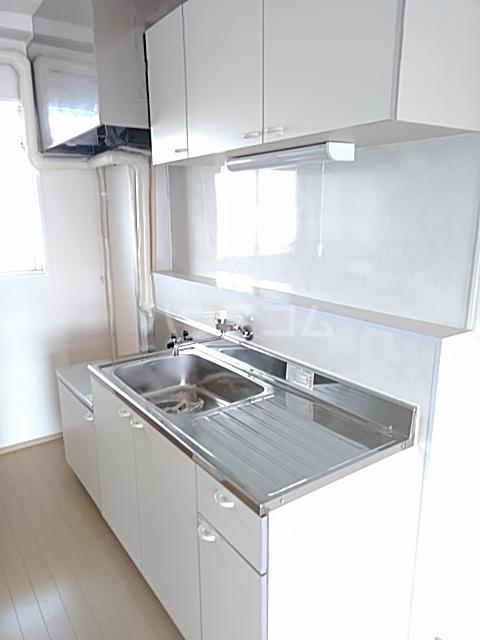 はりまマンション 305号室のキッチン