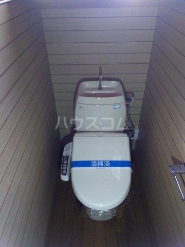 小山様借家 1-1号室のトイレ