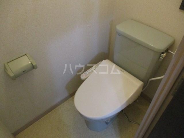 シティプレイス 608号室のトイレ