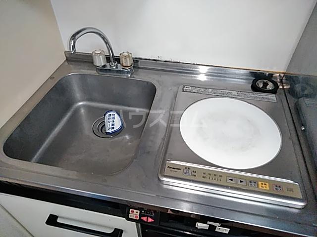 グランプラス桜 206号室のキッチン