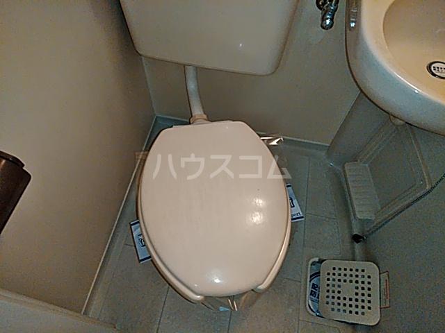 グランプラス桜 206号室のトイレ