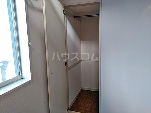 グランプラス桜 206号室の収納