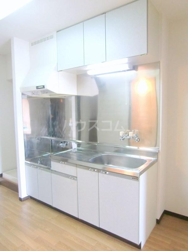 ハイライズ細島Ⅱ 105号室のキッチン