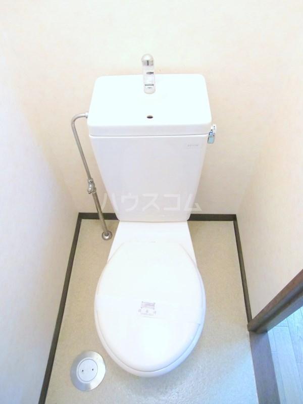 ハイライズ細島Ⅱ 105号室のトイレ