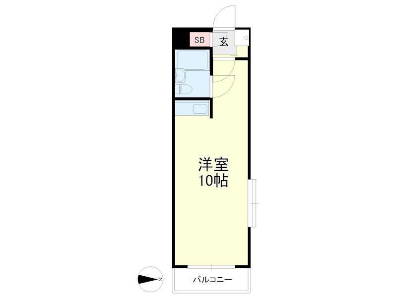 グレイス第3マンション 302号室の間取り