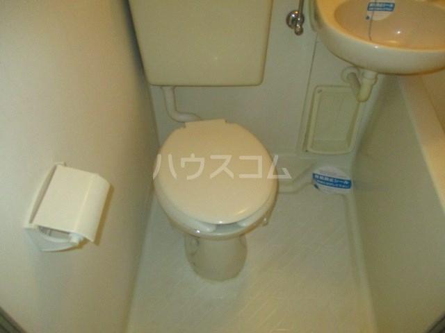 グレイス第3マンション 302号室のトイレ