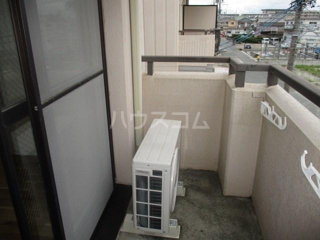 グレイス第3マンション 302号室のバルコニー