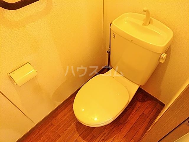 グリーンヒルズ E 203号室のトイレ