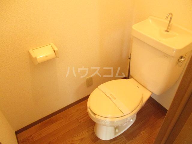 ヴィラフォーレA・B・C・D D-202号室のトイレ