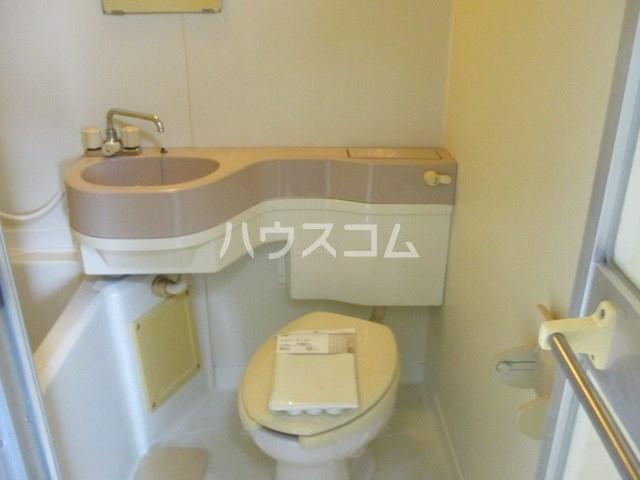 コーポエトワール 101号室のトイレ