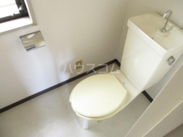 道場北マンション 203号室のトイレ