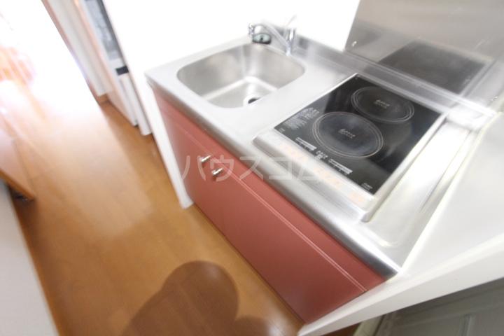 レオパレスKAZU 210号室のキッチン