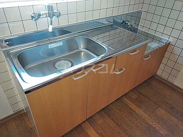 タウンサンロイヤル A205号室のキッチン