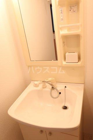 ボンハウス 403号室の洗面所