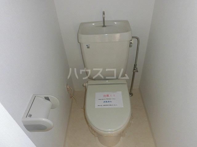 一ツ木マンション安井Ⅱ 207号室のトイレ