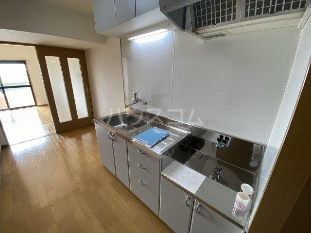 TS-MindⅡ 107号室のキッチン