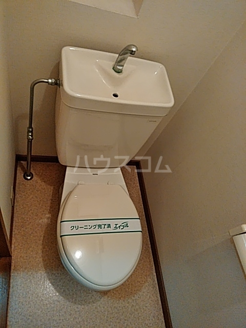 エッセンビル 403号室のトイレ