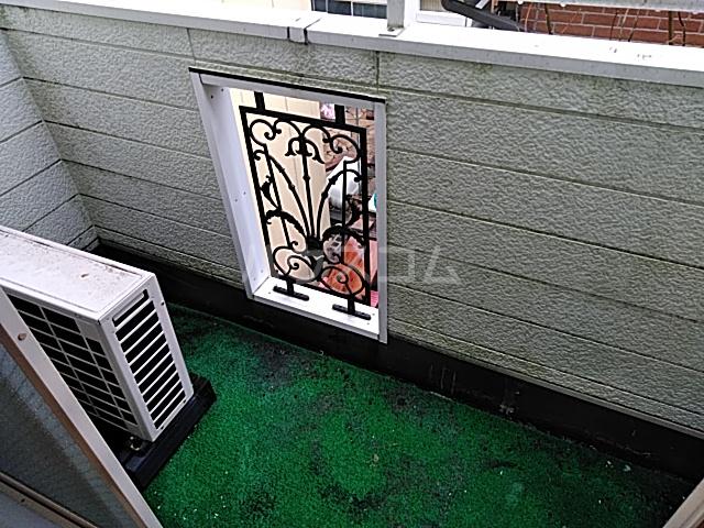 グランプラス桜 203号室のバルコニー