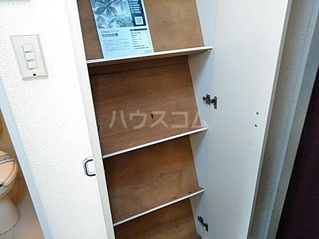 グランプラス桜 203号室の収納