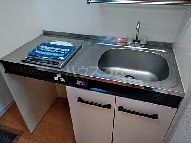 グランプラス桜 203号室のキッチン