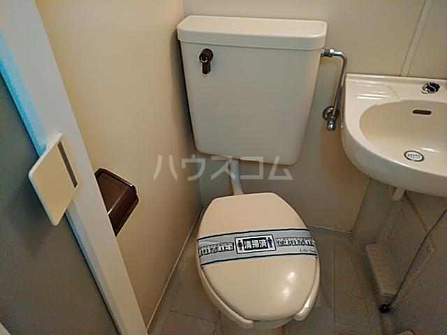 グランプラス桜 203号室のトイレ