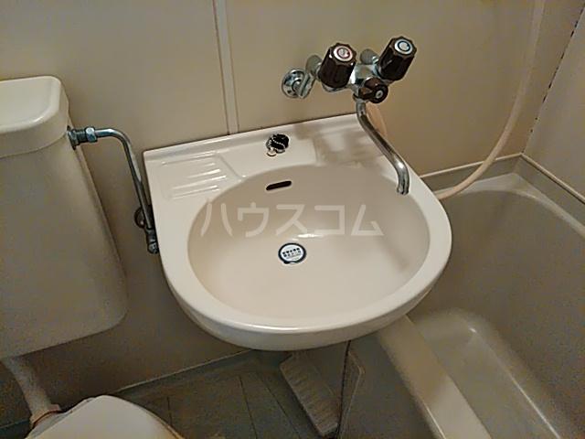 グランプラス桜 203号室の洗面所