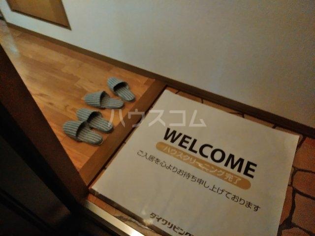 エンゼルコーポ森 201号室の玄関