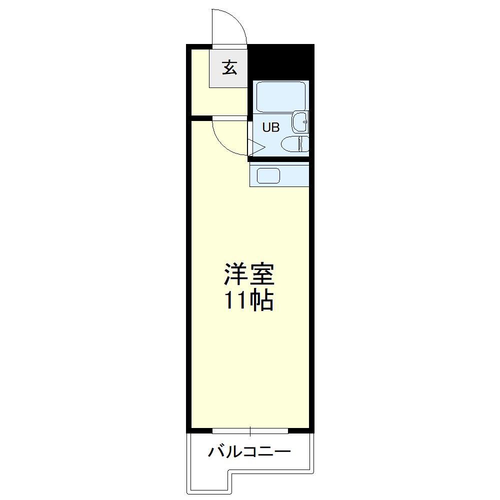 グレイス第3マンション・307号室の間取り