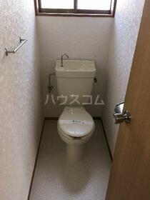 ハイツフラワー 206号室のトイレ