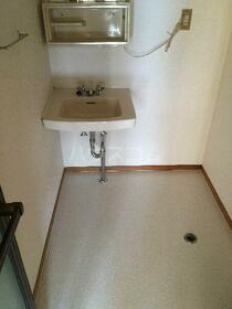 ハイツフラワー 206号室の洗面所