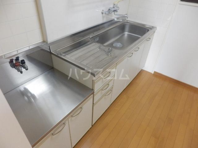 シャトーレ滝ノ水 2D号室のキッチン