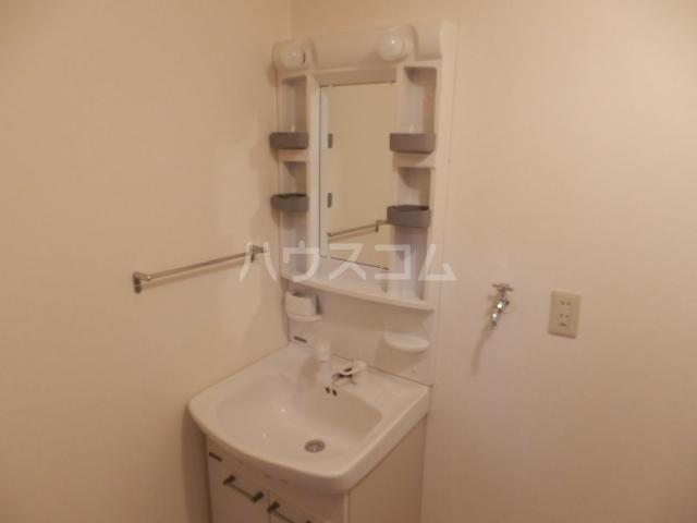 シャトーレ滝ノ水 2D号室の洗面所