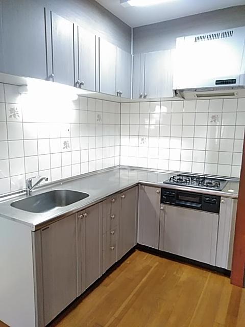 アルカディア曳馬 201号室のキッチン