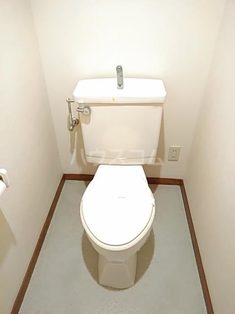 アルカディア曳馬 201号室のトイレ